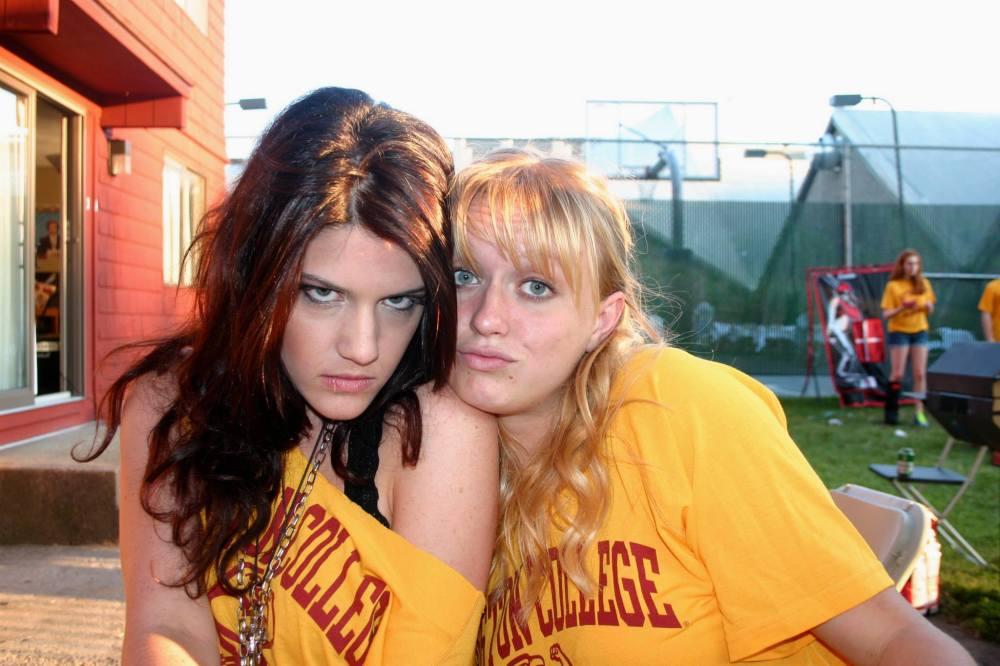 Eu e minha amiga Erica